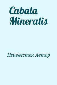 Cabala Mineralis
