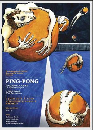 Сароян Уильям - Игроки в пинг-понг
